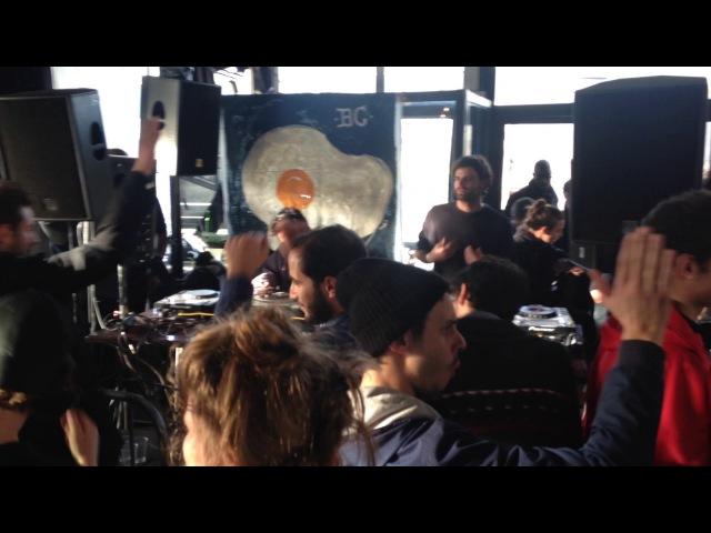 Max Vaahs b2b Saverio Celestri @ Café Barge/Breakfast Club - 11/12/2016
