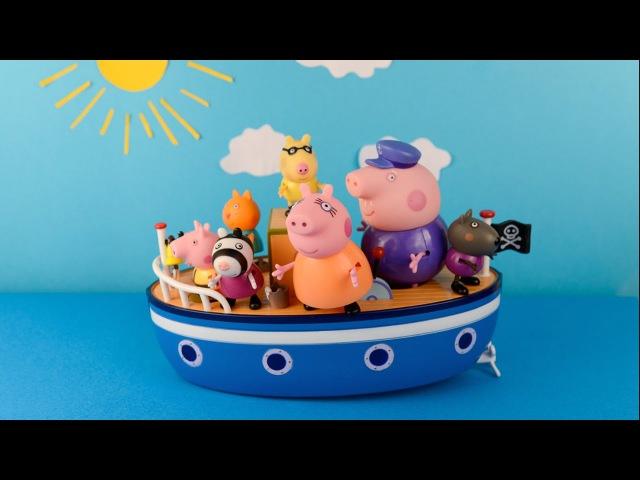 Свинка Пеппа и Друзья на Пиратском Острове