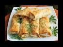 РУЛЕТИКИ из ЛАВАША с начинкой КАК ПИЦЦА! Закуска на пикник, или вкусный завтрак!