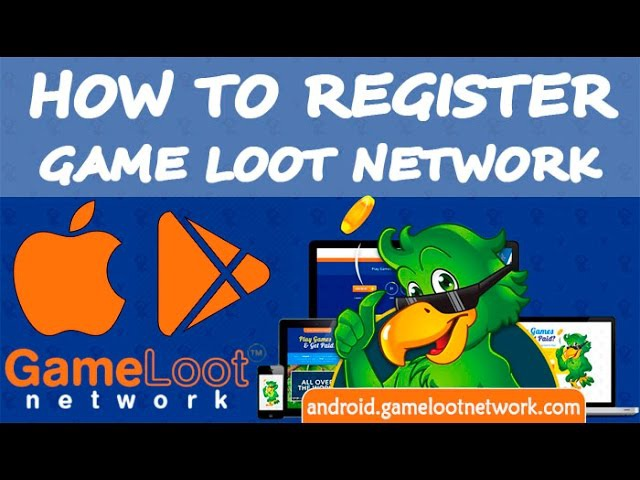 How To Register: Game Loot Network (English) | Android