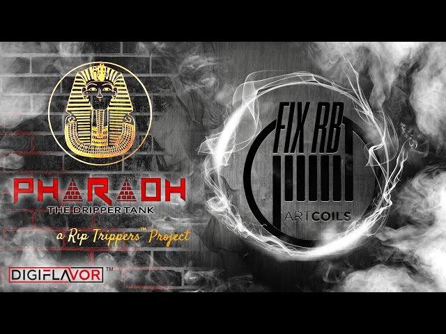 PHARAOH Dripper Tank | DigiFlavor | взгляд от Драгоша | LIVE |09.08.16 | 1930 MCK