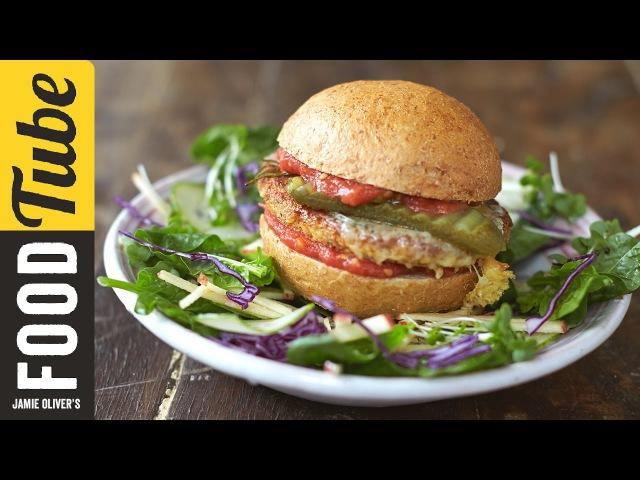 Super Food Tofu Burger | Jamie Oliver