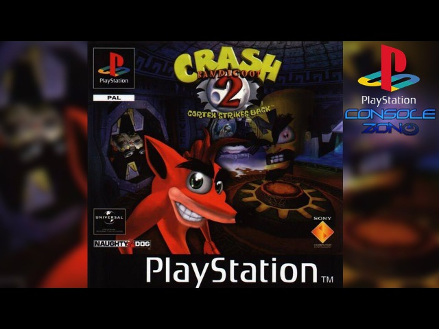 Crash Bandicoot 2: Cortex Strikes Back (Sony Playstation) - прохождение игры