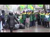Кличко - БЕСПРЕДЕЛЬЩИК и должен уйти в отставку - Акция протеста перед мерией пр ...