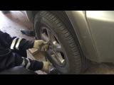 Замена тормозных колодок на TOYOTA RAV4 2002