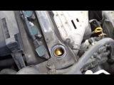 Замена масла и фильтра Toyota RAV4 2.0 VVTi без ямы.