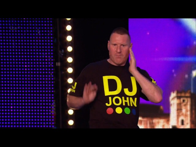 Britain's Got Talent 2015 S09E05 DJ John Squeaks By with 3 Yeses