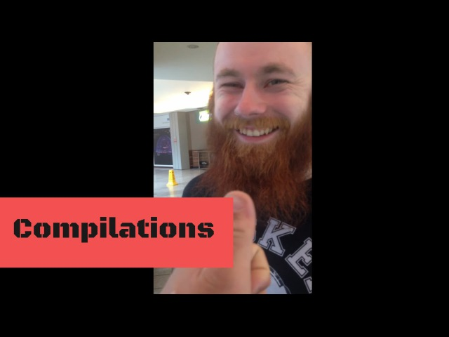 Tickling Irishman's beards compilation