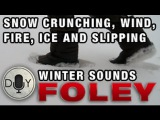 Foley DIY Tutorial: Winter Sound FX, ice, snow, wind, fire, skiing, snowboarding, slipping