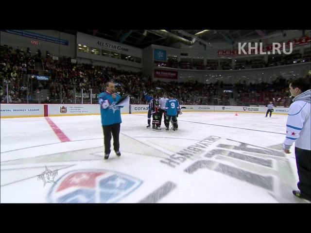 KHL All Star Большая эстафета Fastest skater team relay
