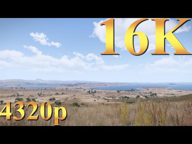ArmA 3 16K (8K) 4320p Gameplay Titan X Pascal 3 Way SLI PC Gaming 4K | 5K | 8K and Beyond