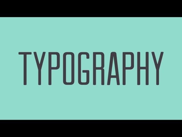 Beginning Graphic Design Typography