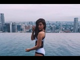 Janella Salvador Shows Sexy Figure wearing BIKINI on a beach in Singapore