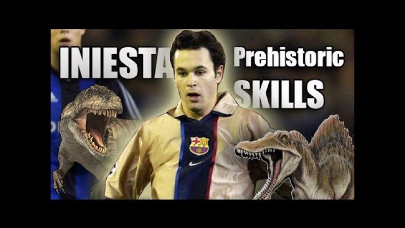 Andres Iniesta - Prehistoric Skills - Old Times - 2004/2008