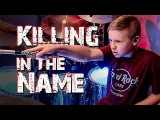 Killing In the Name (Rage Against The Machine) 10 year old Drummer, Avery Drummer Molek (Drum Cover)