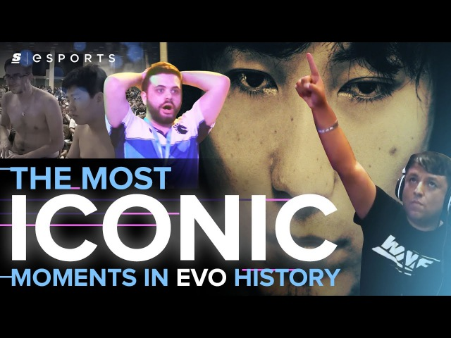 The Most ICONIC Moments in EVO History (FGC)