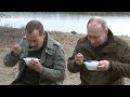 Вся рыба из ухи досталась Путину! Путин и Медведев на отдыхе в Новгородской обла
