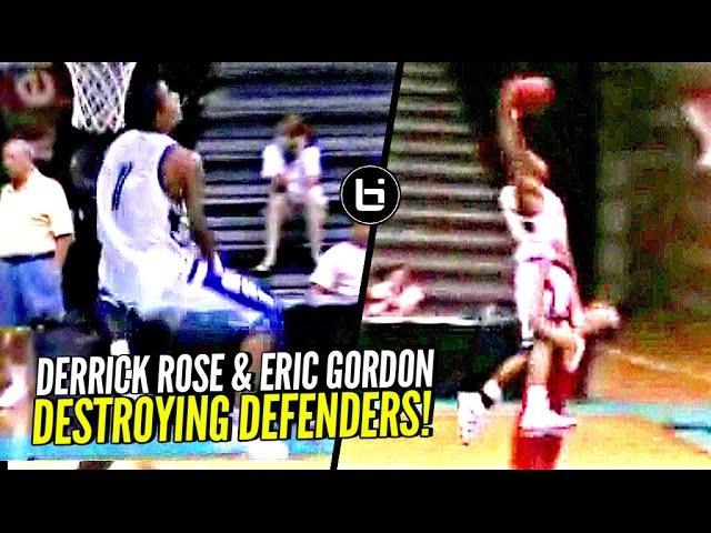 Derrick Rose Eric Gordon Would SHUT THE INTERNET DOWN Today! NASTIEST HS Backcourt Duo!