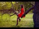 Красивая стройная молодая сексуальная девушка ножки в колготках Beautiful slender young girl sexy legs in pantyhose mini dress feet