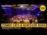 Zombie Cats &amp Agressor Bunx - Imagination Festival 2016 DnBPortal.com