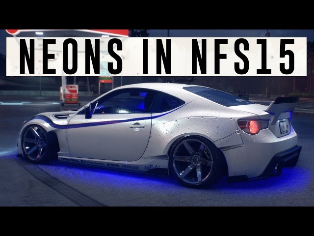 NEONS IN NFS 2015 ( CINEMATIC / 4K / 21:9 / @CROWNED_YT )