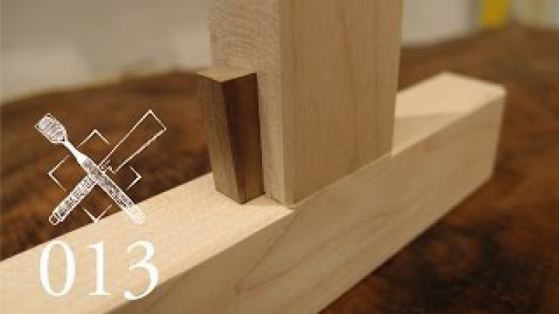 Joint Venture Ep.13: Half dovetailed and wedged mortise and tenon (Western / Japanese Joinery)