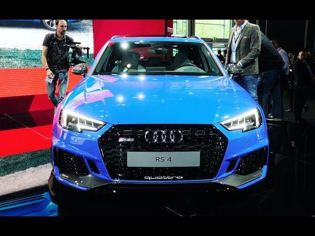 Audi R8 RWS, Audi RS 4 2018, Audi A8 и суперконцепты Aicon и Elaine Франкфурт 2017
