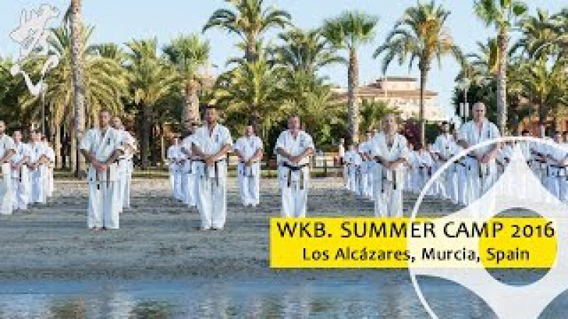 Kyokushin Summer Camp With Hanshi Pedro Roiz and Shihan Sergei Vsevolodov 2016 WKB