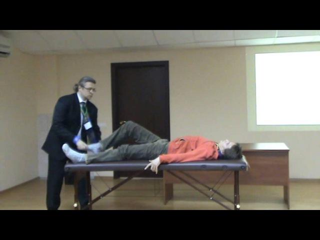 Сателлитный симпозиум. Волынкин Н.А. конференция прикладная кинезиология в спорте ВНИИФК 2014