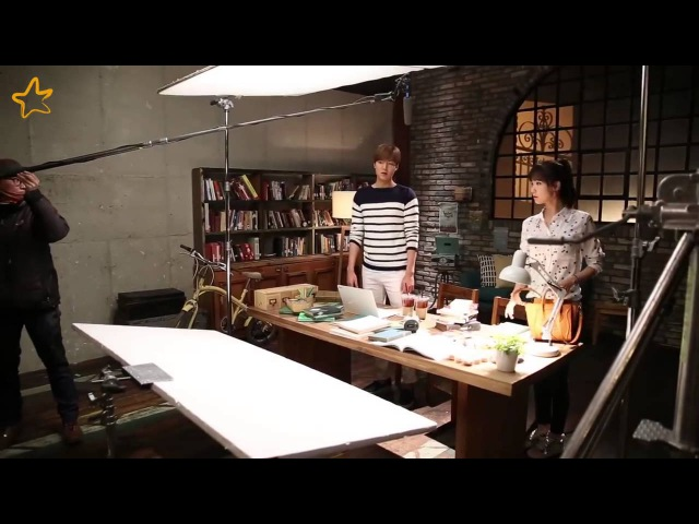 Lee Min Ho and SNSDs Yoona - Innisfree Commercial Summer Love - Behind The Scene - 01.06.2015