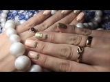 Снятие гель-лака керамической фрезой, донаращивание ногтя