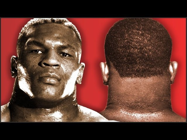 Mike Tyson Strong Iron Neck Training