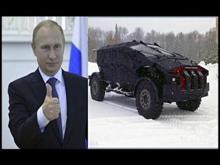 В учениях ФСБ в Крыму принимал участие нашумевший бронеавтомобиль ЦСН