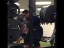 Джозеф Пена, приседания 370 кг
