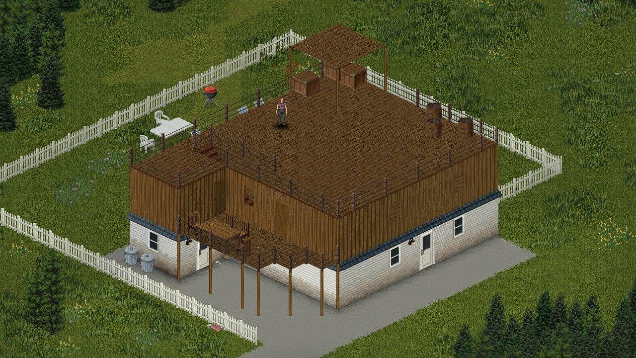 Скриншот игры Project Zomboid