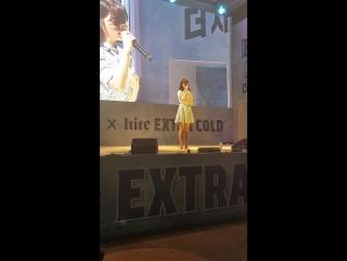 [EVENT] 170803 @ IU - JamJam + Ending Scene (LQ Fancam at Hite Jinro event)