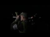 Ночные стрельбы в Подмосковье танкистов Кантемировской дивизии