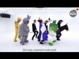 [RUS SUB][BANGTAN BOMB] BTS '21st Century Girl' Dance Practice (Halloween ver.)