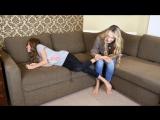 The Tickle Challenge! - Socks Challenge with Mum