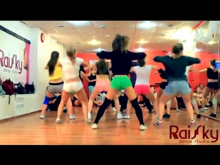 RUSSIAN TWERK by Shoshina Katerina Booty Dance Шошина Катя RaiSky Dance Studio