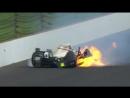 Страшная авария на гонке Indy 500