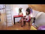 Nataly Gold - Brunette Russian Nataly Gold Seduced By Photographer Into Sex On The Set