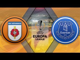 Ружомберок 0:1 Эвертон  | Лига Европы УЕФА 2017/18 | Квалификация | 2-й матч | Обзор матча