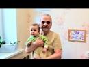 Видеоролик-Саша в гостях у бабушки с дедушкой !