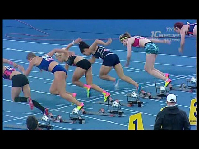 Europejski Festiwal Lekkoatletyczny Bydgoszcz 2017 100m hurdles W