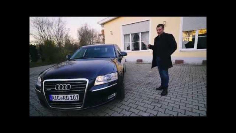 Audi A8 4.2 TDI Quattro Наш новый рабочий автомобиль