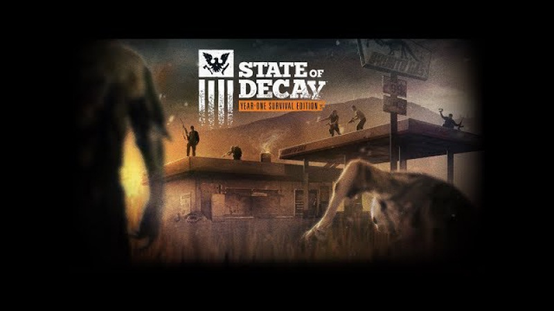 State of Decay Year-One - ГОПОТА супротив зомбов.