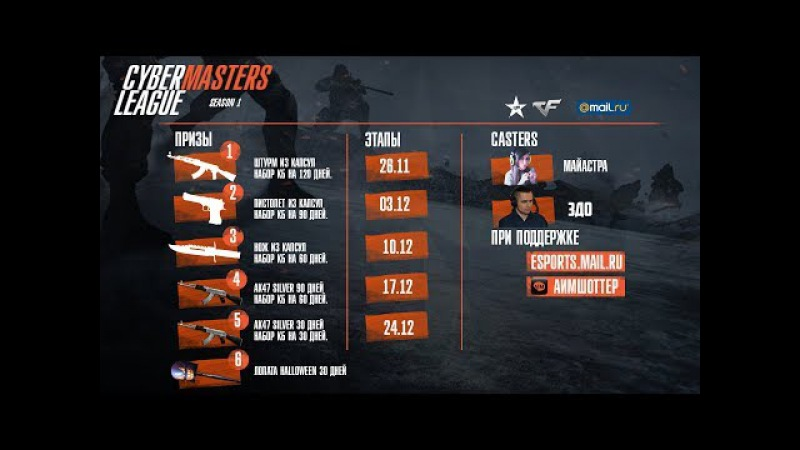 CyberMasters League Season I Cup II [by Mayastra 3DO]
