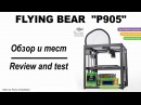 3D Printer Flying Bear P905 (Review and print test)