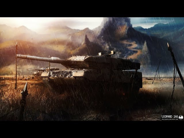War Thunder Cinematic   Leopard 2A5   Леопард 2А5